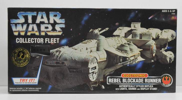 Kenner Star Wars Collector Fleet Electronic Rebel Blockade Runner