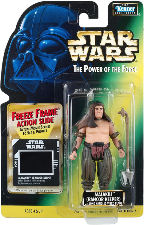 Kenner Star Wars Power of the Force Malakili (Rancor Keeper) Action Figure