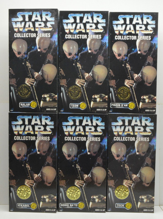 Kenner Star Wars Action Collection Cantina Band Set of Six 12in Action Figures