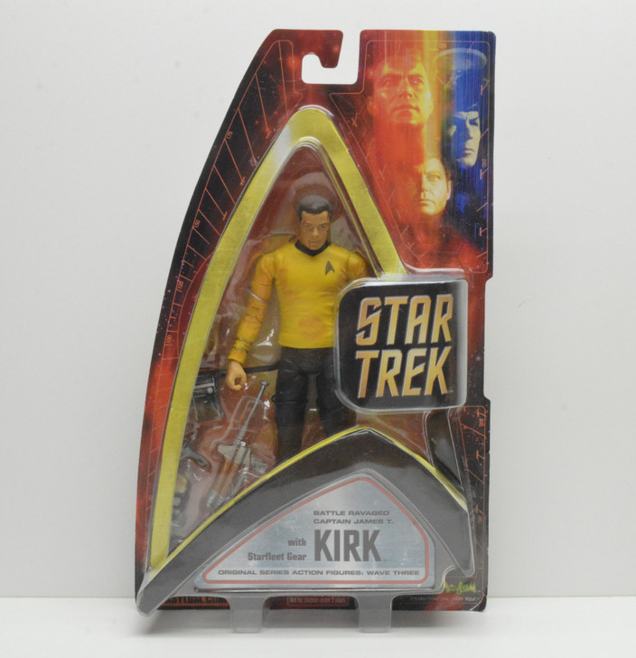 Art Asylum Select Star Trek Battle Ravaged Kirk Action Figure