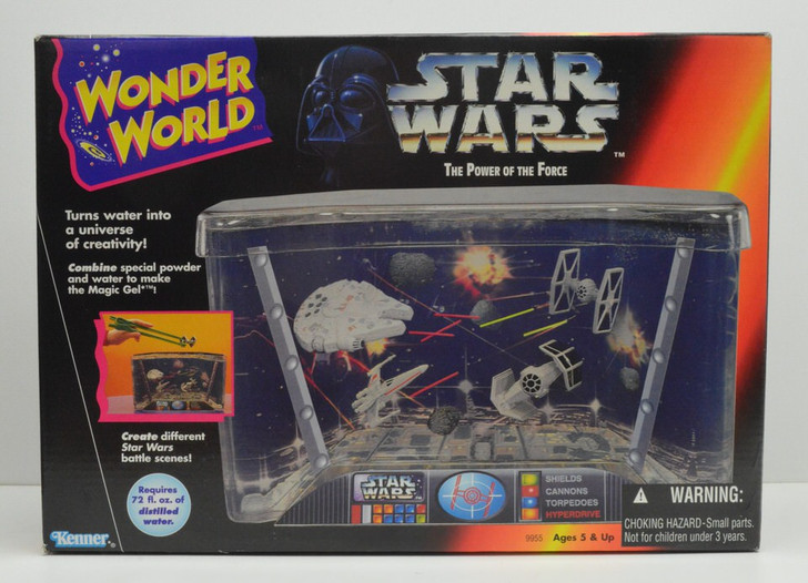 Kenner Star Wars Wonder World The Power Of The Force Water Play Aquarium Tank