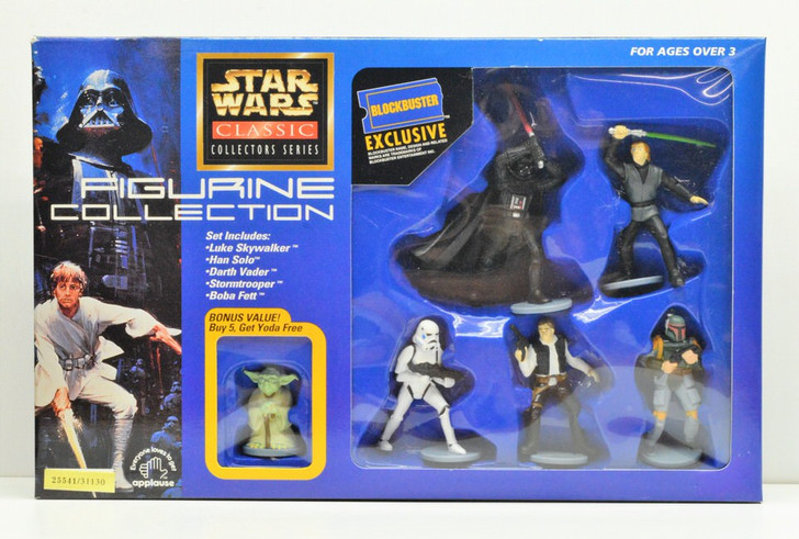 Applause Star Wars Figurine collection Blockbuster Exclusive