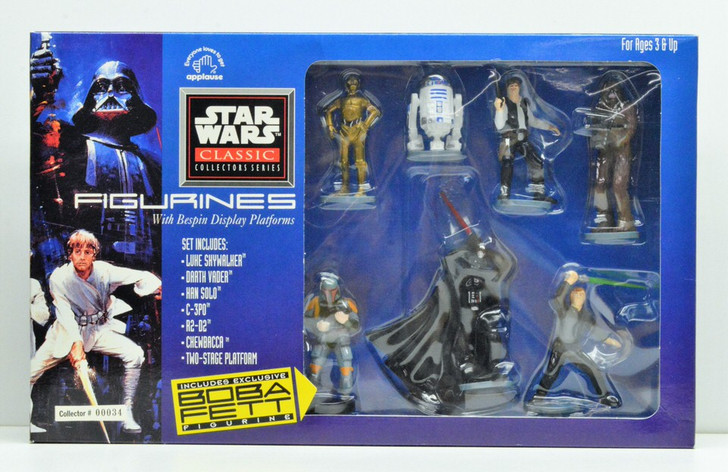 Applause Star Wars Figurine collection with exclusive Boba Fett