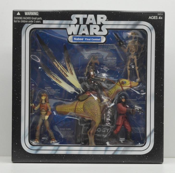 Hasbro Star Wars Naboo Final Combat Action Figure 4 pack
