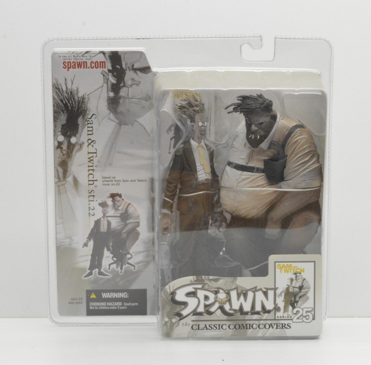 McFarlane Spawn Series 25 Classic Comic Covers Sam and Twitch
