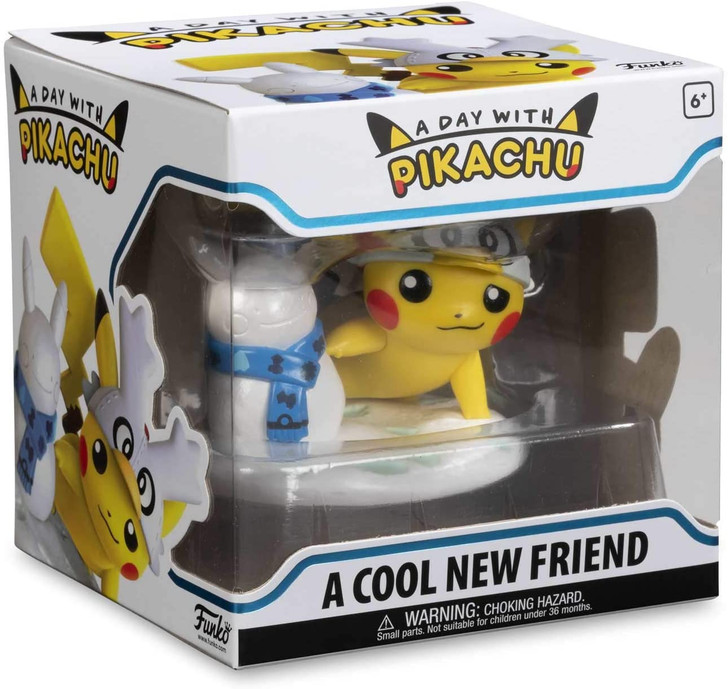 "Funko Pop! A day with Pikachu ""A Cool New Friend"""