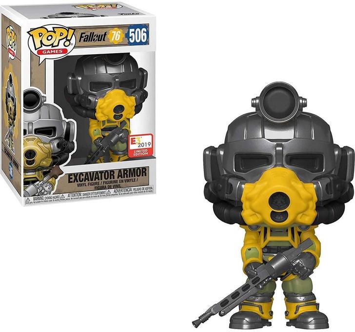 Funko Pop! Games Fallout 76 Excavator Armor E3 2019 Exclusive