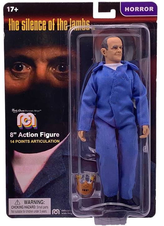 """Mego Action Figure 8"""" Silence of the Lambs - Hannibal Lector"""