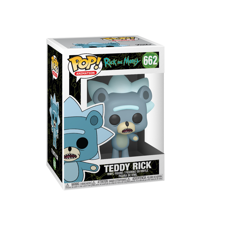 Funko Pop! Animation Rick and Morty Teddy Rick #662