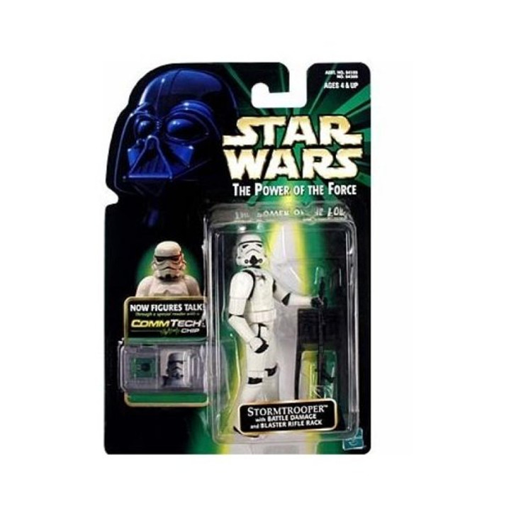 Hasbro Star Wars Stormtrooper COMM TECH Chip Action Figure