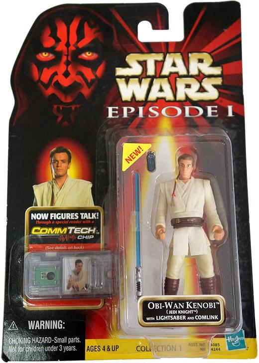 Hasbro Star Wars Episode I Obi Wan Kenobi Jedi Knight Action Figure