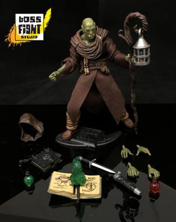 Vitruvan H.A.C.K.S. Half-Orc Mage Action Figure