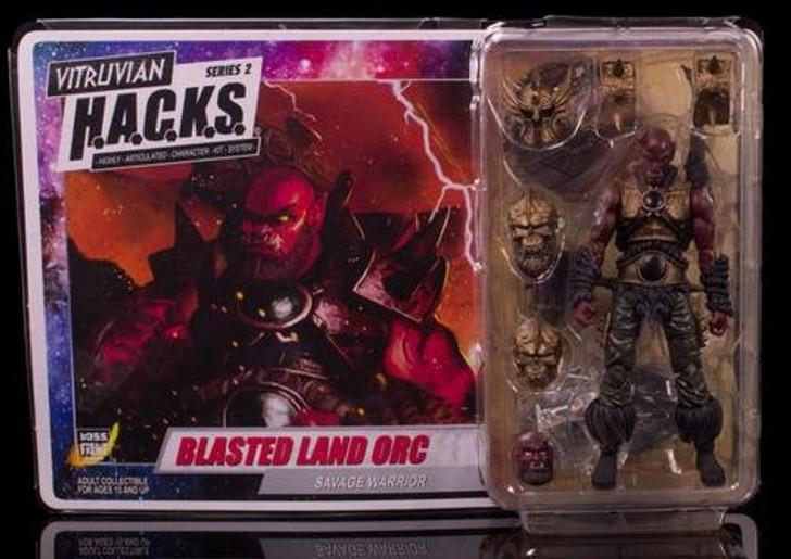 Vitruvan H.A.C.K.S. Blasted Land Orc Action Figure