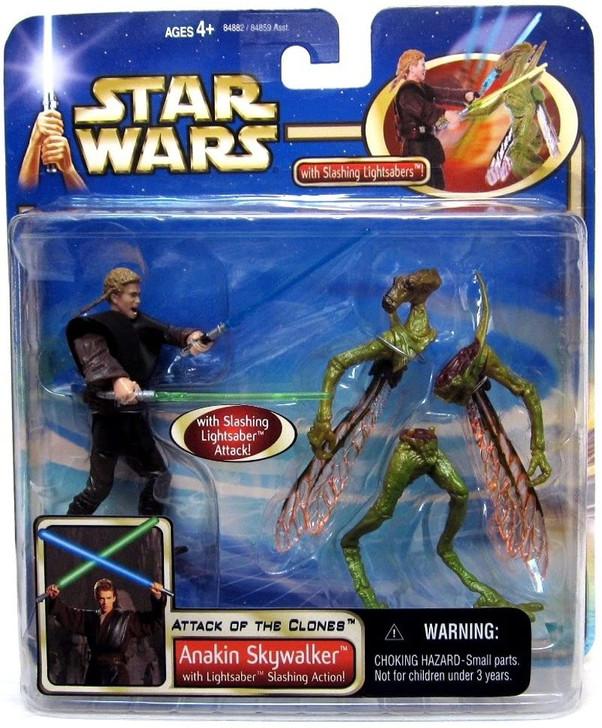 Hasbro Star Wars AOTC Anakin Skywalker Slashing Action Action Figure