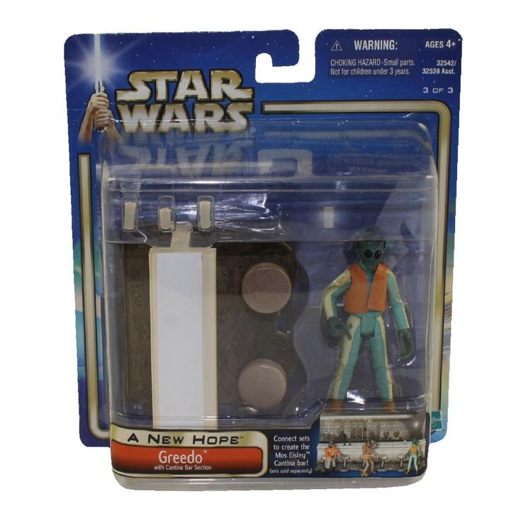 Hasbro Star Wars Greedo with Cantina Bar Section