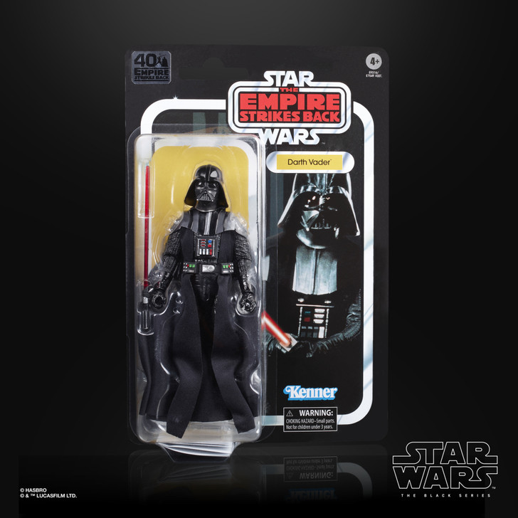 "Hasbro Star Wars The Black Series Darth Vader 6"" Action Figure"