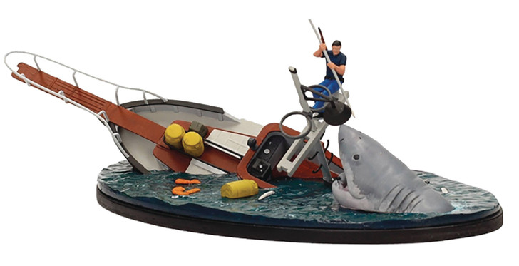 SD Toys JAWS Orca Boat Diorama
