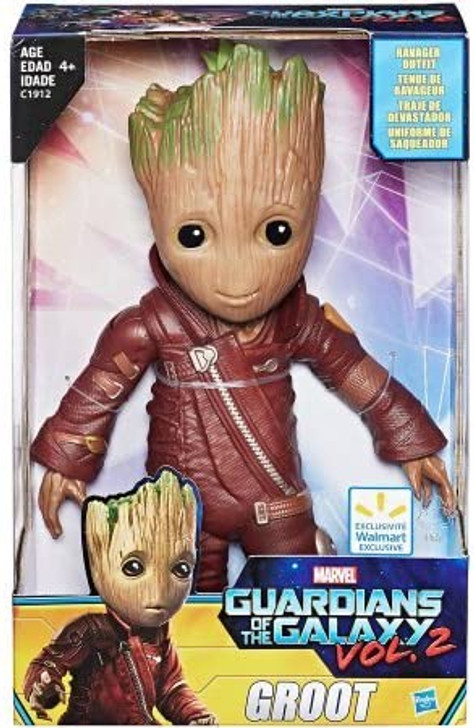 Hasbro Marvel Guardians of The Galaxy Vol.2 Baby Groot Action Figure Ravager Outfit Exclusive