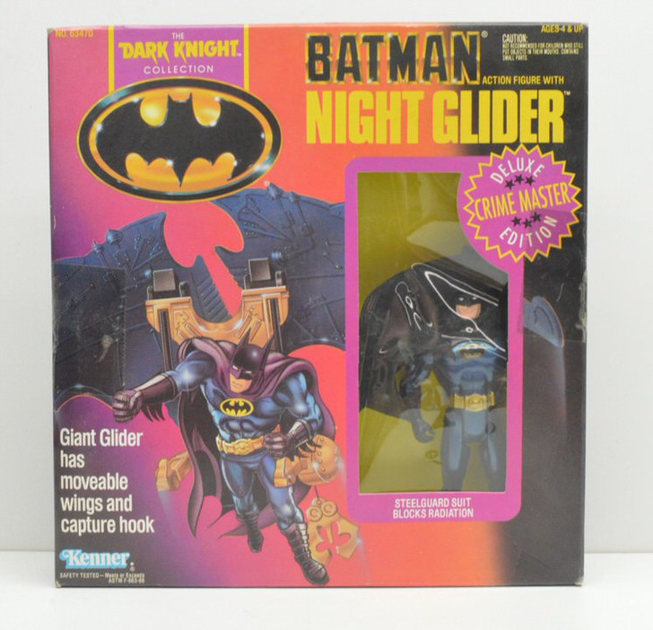 Kenner Batman Dark Knight Collection Night Glider Batman Action Figure