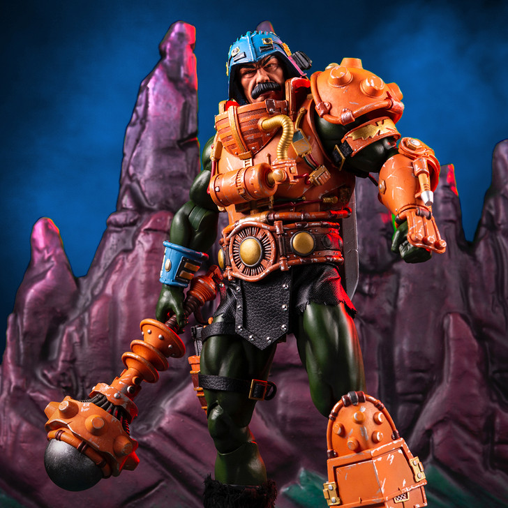 Mondo Masters of the Universe Man at Arms 1/6 Scale Figure