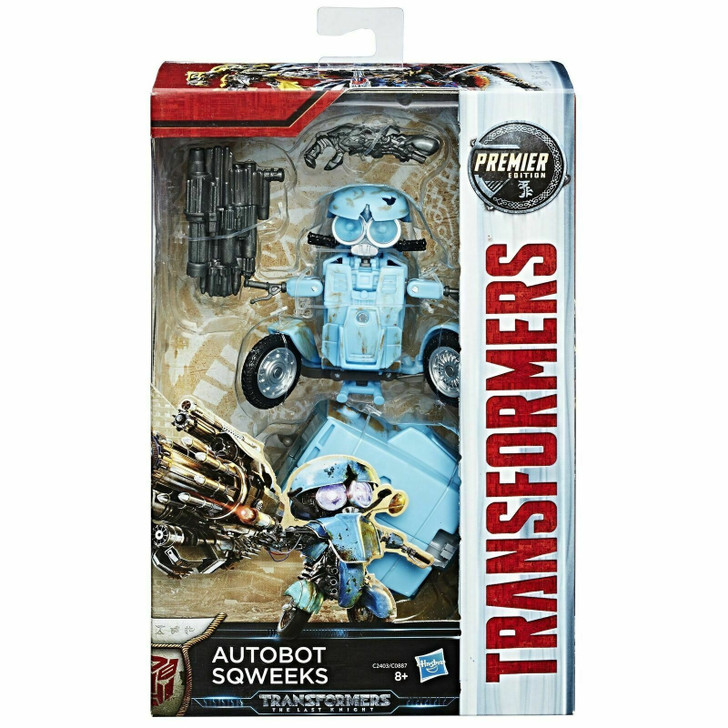 Hasbro Transformers The Last Knight Movie Deluxe Premier Edition Autobot Sqweeks