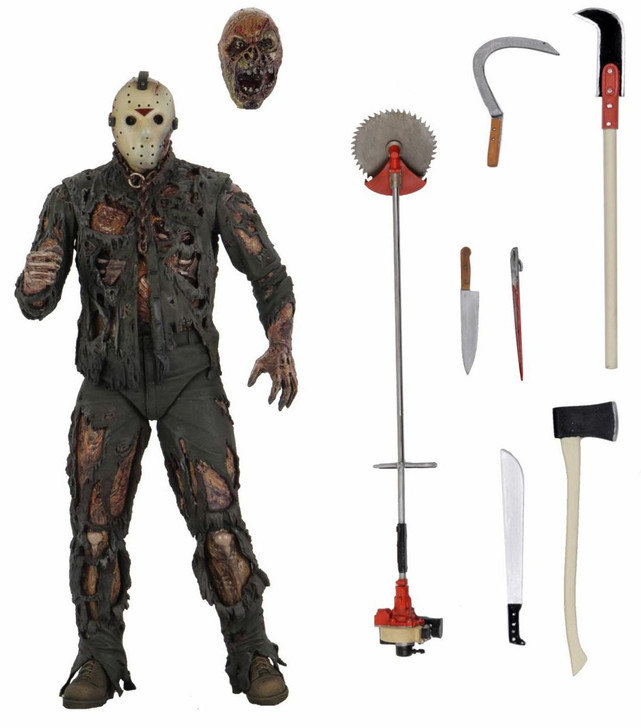 """NECA Friday the 13th - 7"""" Scale Action Figure – Ultimate Part 7 (New Blood) Jason"""