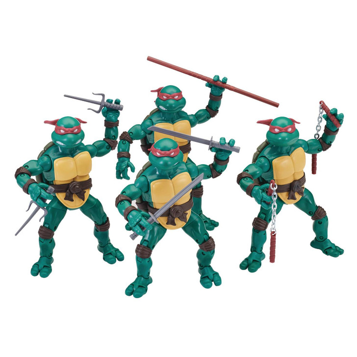 Playmates TMNT Elite Series Set of 4 Action Figures