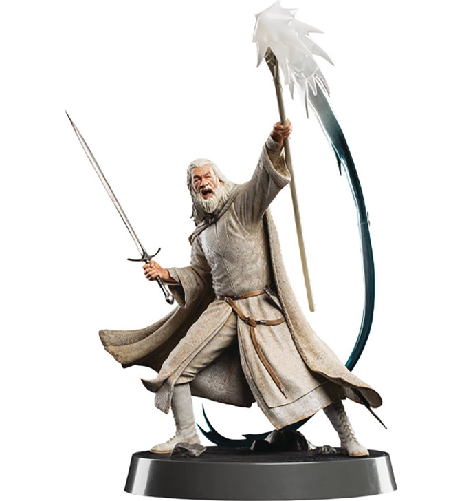 WETA Figures of Fandom Gandalf the White PVC Statue