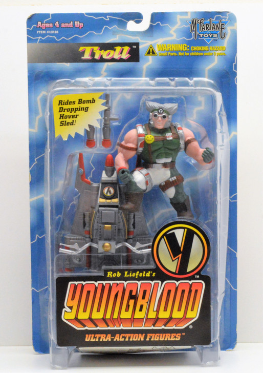 Mcfarlane Youngblood Troll Action Figure