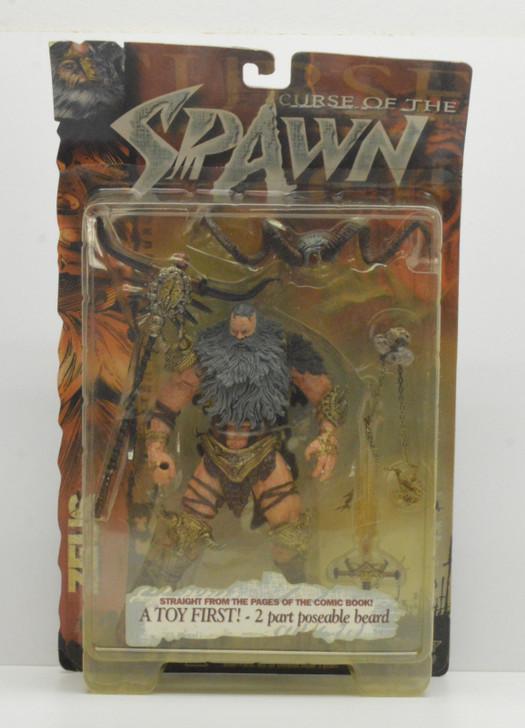 Mcfarlane Spawn Curse of the Spawn Series Zeus Action Figure