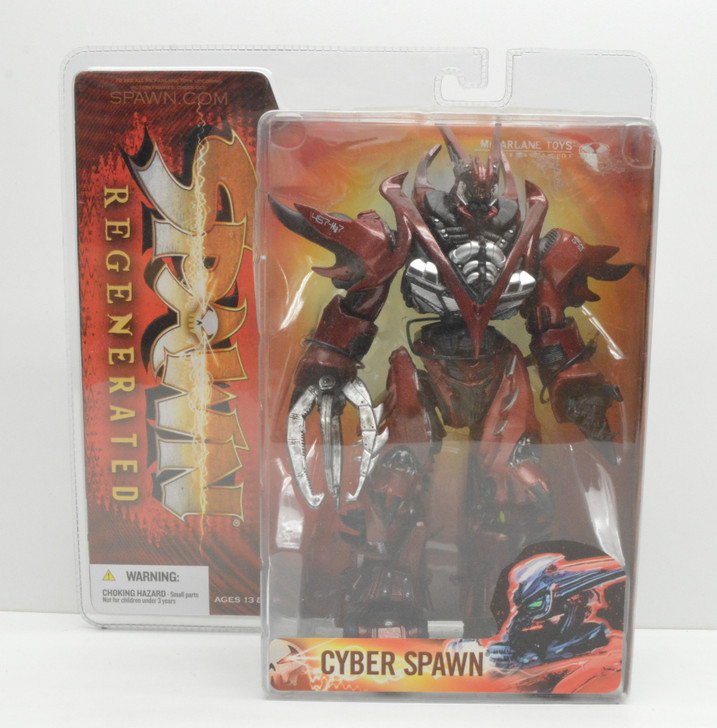 Mcfarlane Regenerated Cyber Spawn Action Figure