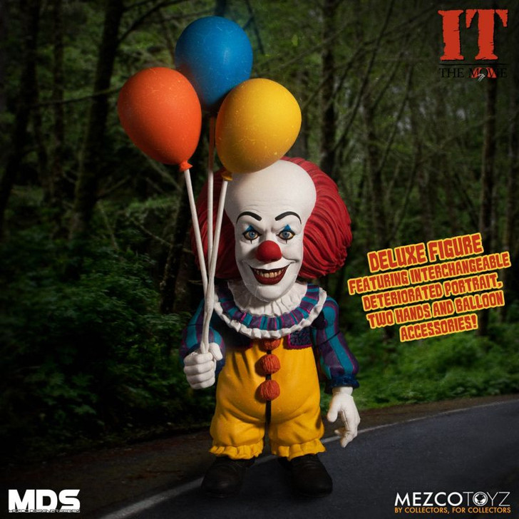 Mezco MDS IT (1990): Deluxe Pennywise