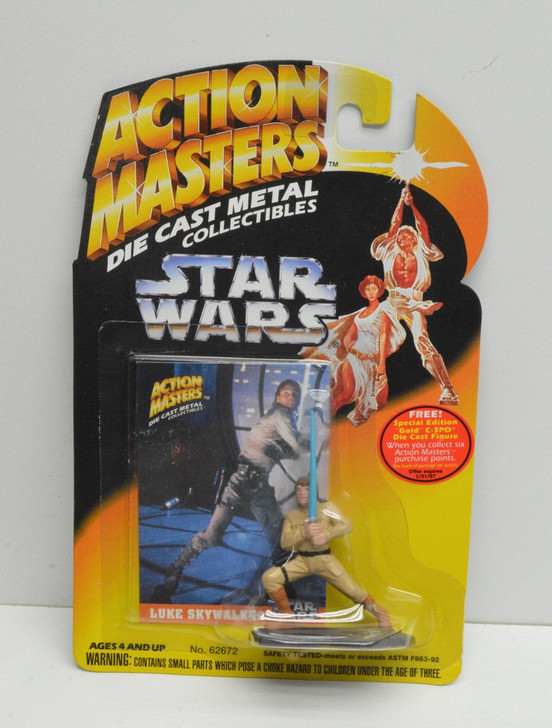 Kenner Star Wars Die Cast Metal Luke Skywalker