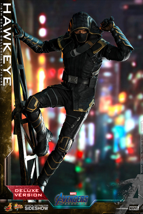 Hot Toys Avengers Endgame Hawkeye Deluxe Verison Movie Masterpiece Sixth Scale Figure