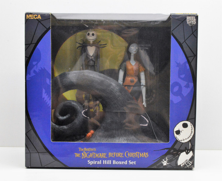 NECA NBX Jack and Sally Spiral Hill Boxed Set