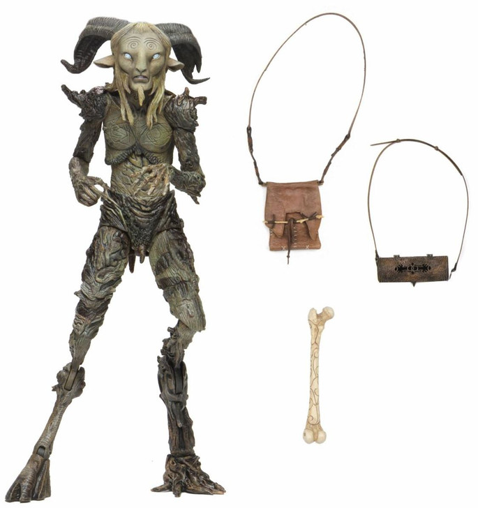 "NECA Guillermo Del Toro Signature Collection - 7"" Scale Action Figure - The Old Faun (Pan's Labyrinth)"