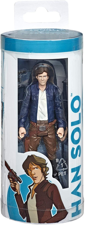 """Hasbro Star Wars """"Who in the galaxy is…?"""" Han Solo Action Figure"""