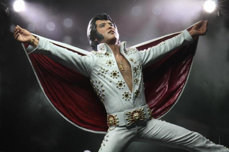 "NECA Elvis Presley - 7"" Scale Action Figure - Elvis Presley Live in '72"