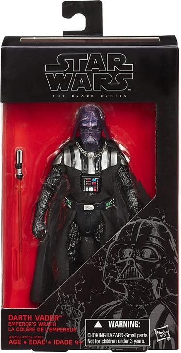 """Hasbro Star Wars The Black Series Darth Vader Emperor's Wrath 6"""" Action Figure"""