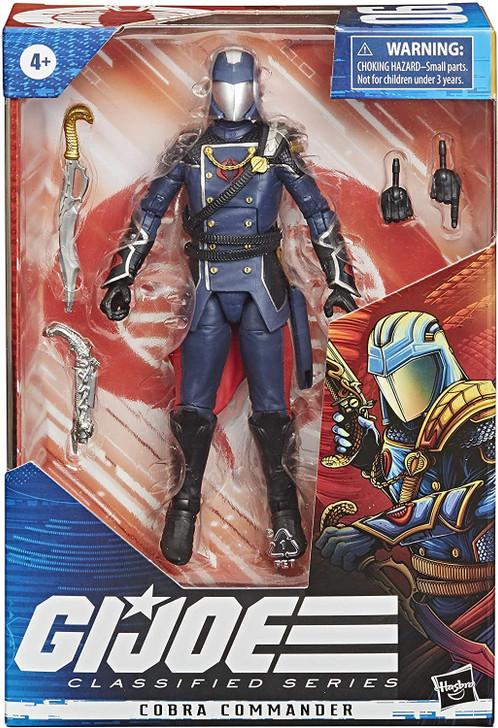 Hasbro GI Joe Classified Series Cobra Commander 6in Action Figure