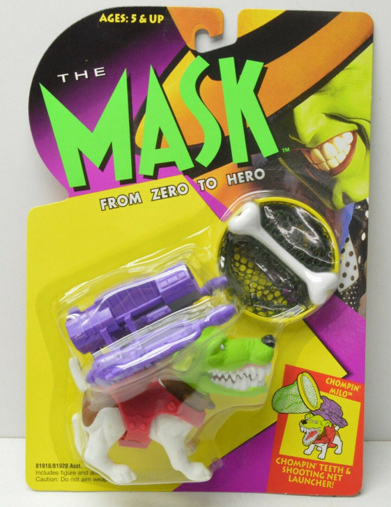Kenner The Mask Chomping Milo Action Figure