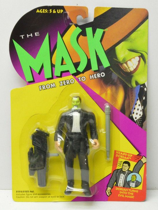 Kenner The Mask Head's-Up Dorian Action Figure