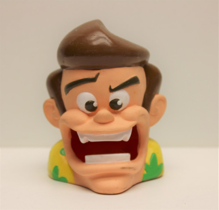Taco Bell 1996 Ace Ventura Rubber face toy