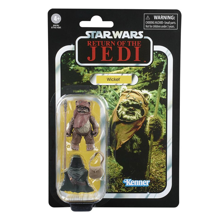 Hasbro Star Wars The Vintage Collection Wicket action figure