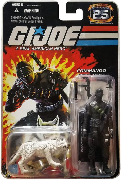 Hasbro GI Joe 25th Anniversary Snake Eyes