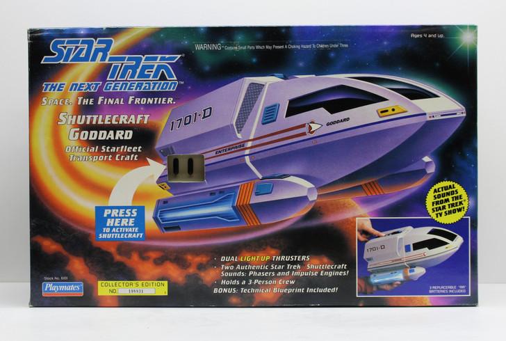 Playmates Star Trek TNG Shuttlecraft Goddard