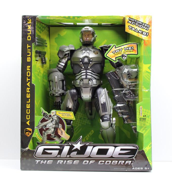 "Hasbro GI Joe Accelerator Suit Duke 16"" Action Figure"