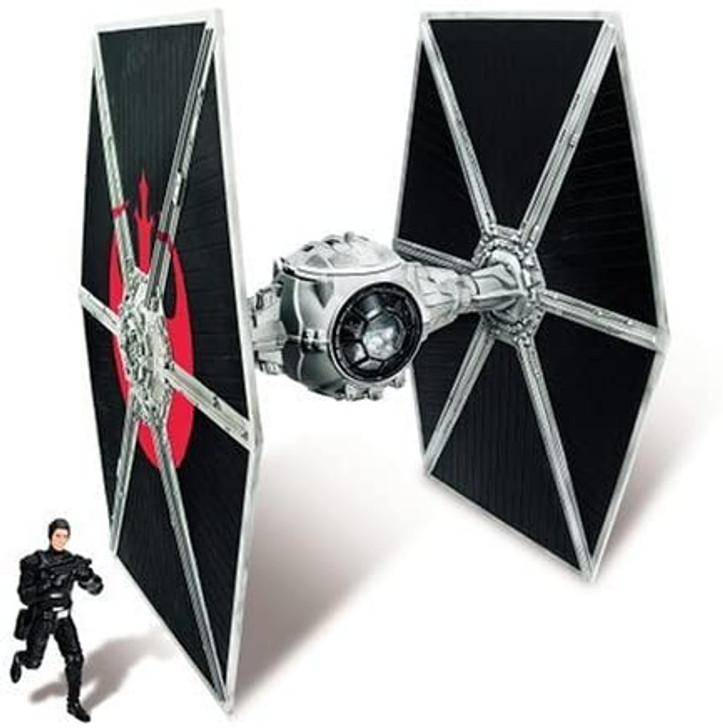 Hasbro Star Wars Ecliptic Evader Tie Fighter with Hobbie Klivian Action Figure