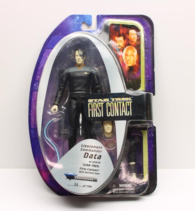 "Diamond Select Star Trek Lt. Commander Data ""First Contact"" Action Figure"