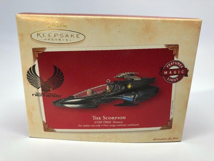 Hallmark Keepsake Magic Ornament Star Trek Nemesis The Scorpion 2003